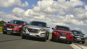 Czy SUV z Korei pokona rywali? Hyundai Tucson kontra Honda CR-V, Mazda CX-5 i Ford Kuga