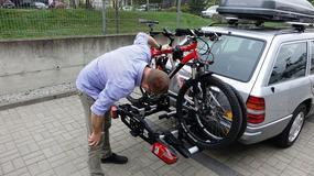 Niemiecka szkoła wożenia rowerów - test bagażnika Uebler X31S