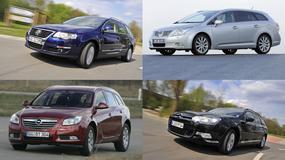 Toyota Avensis kontra Citroen C5, Volkswagen Passat i Opel Insignia - Pięcioletnie kombi z dieslem – które wybrać?