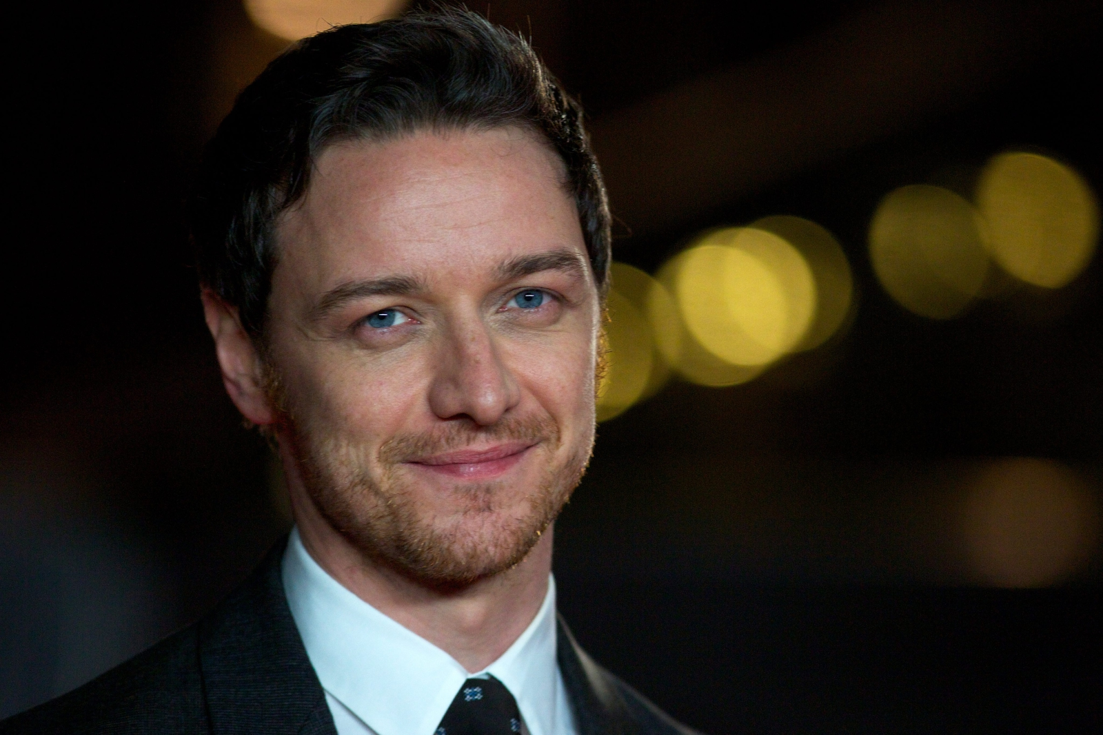 James McAvoy na premierze