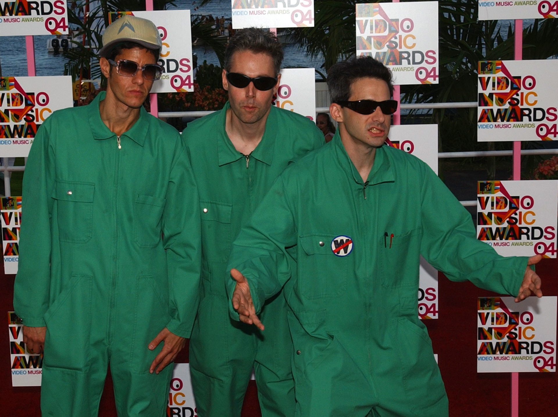 Beastie Boys na gali MTV Video Music Awards w 2004 roku