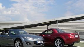 Mazda MX-5 kontra Mazda MX-5 - Radość z jazdy na dwa sposoby