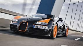 Koniec produkcji Bugatti Veyrona - Pożegnalny gaz do dechy