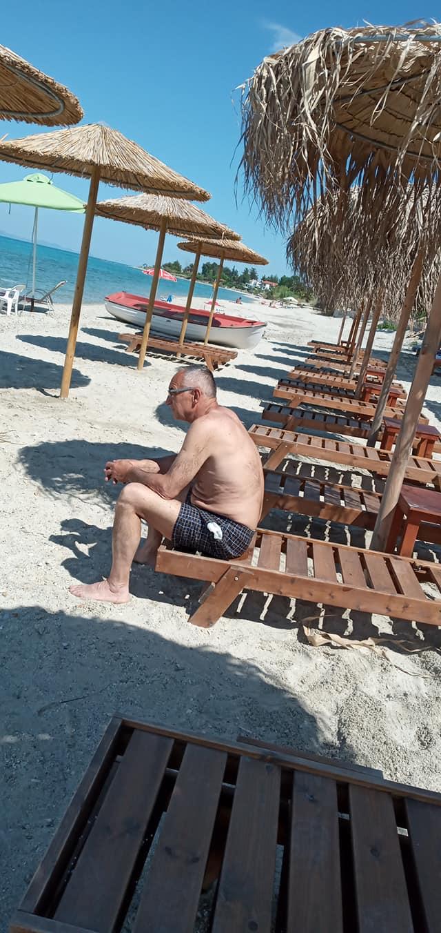 Plaža, a nema turista na njoj