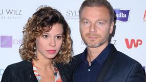 Krystian Wieczorek z żoną ambasadorami kampanii społecznej. Jak prezentowali się na konferencji prasowej?