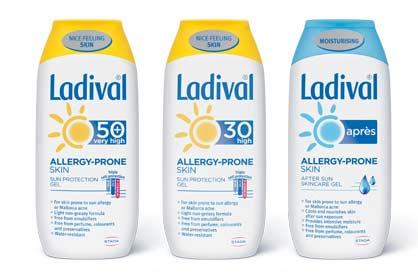 Ladival proizvodi za kožu osteljivu ili alergičnu na sunce (spf 20, spf 30, spf 50+)