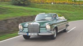 Mercedes 220 SEb Cabriolet - świadek złotych czasów