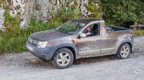 Dacia Duster pick-up: tajemniczy test