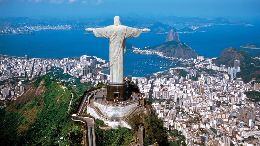 Christ the Redeemer, Rio de Janeiro [brazil tourism]