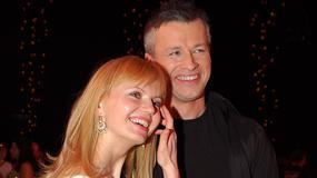 """Miłość w blasku fleszy: Olga Borys i Wojciech Majchrzak obchodzą 20. rocznicę ślubu. """"Często kłócimy się o błahostki"""""""