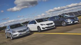 Nowe Renault Megane Grandtour kontra Opel Astra i Peugeot 308