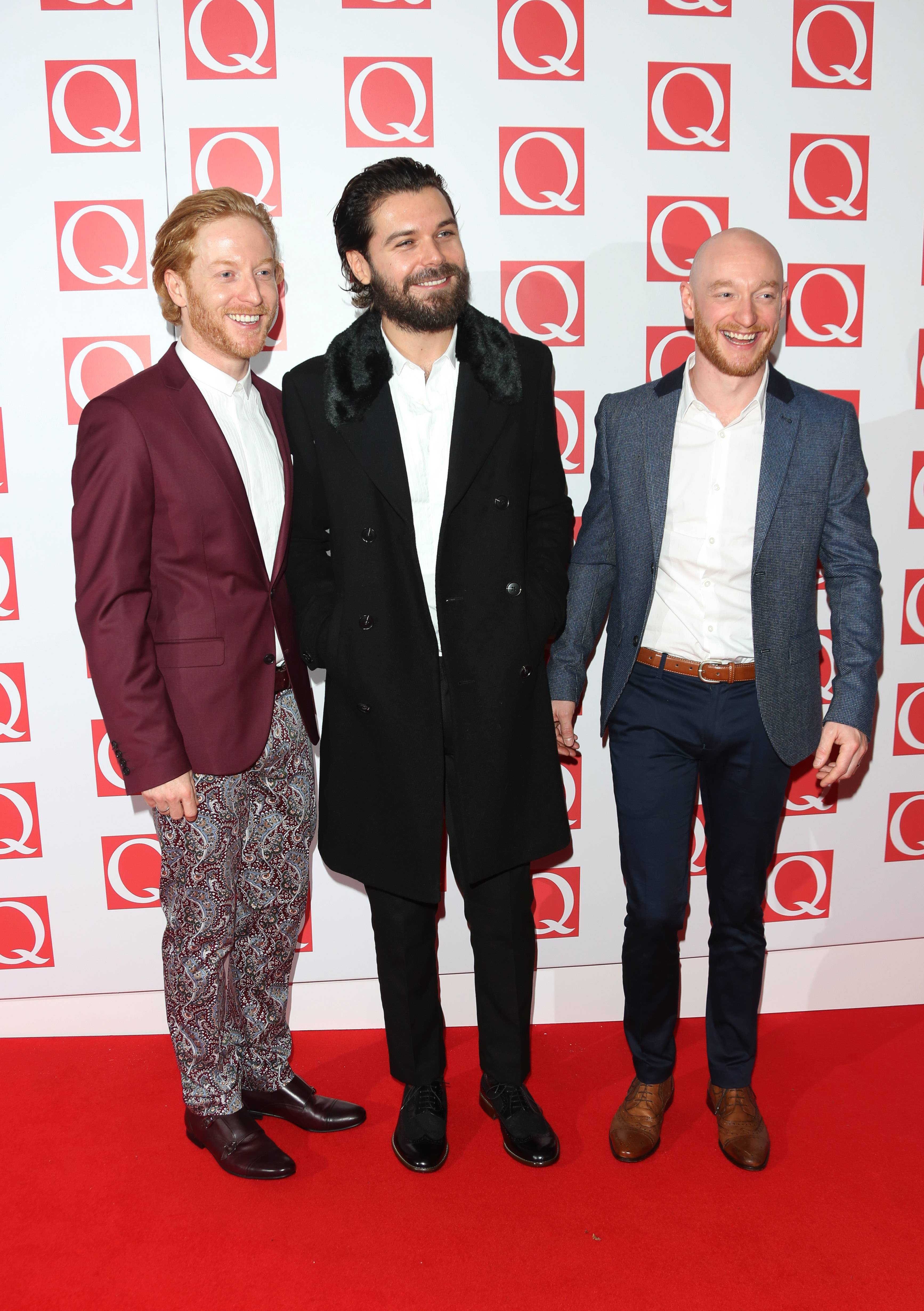 Biffy Clyro na gali Q Awards 2013