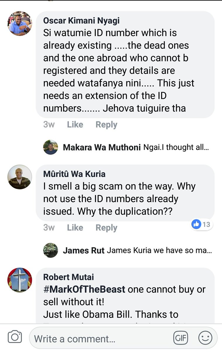 This is 666 – Kenyans suspicious of newly launched Huduma