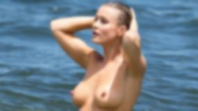 Joanna Krupa topless! Co za biust!
