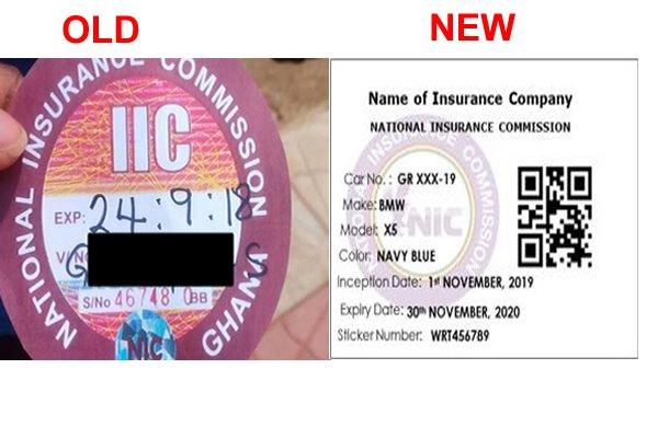 Here S How Ghana S New Electronic Motor Insurance Sticker Looks Like Article Pulse Ghana