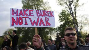 """MAKE BUREK, NOT WAR"" Protest na ulicama Beograda u 24 SLIKE"