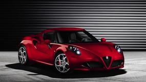 Alfa Romeo 4C oficjalnie
