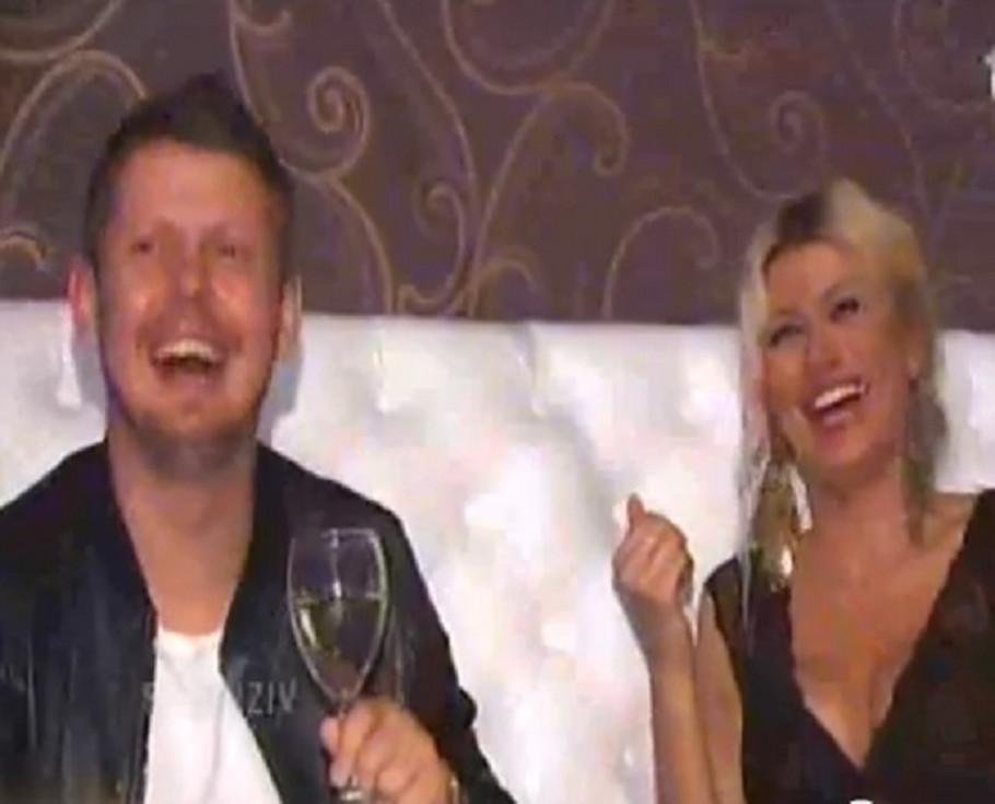 Saša Nedeljković i Sandra Obradović
