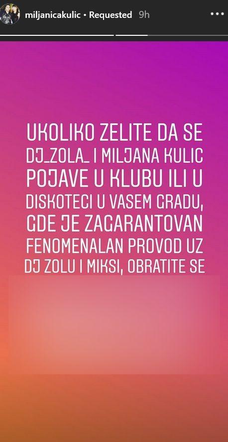 Miljana i Zola