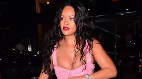 Rihanna z olbrzymim dekoltem