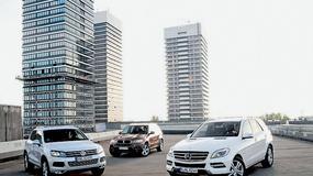 BMW X5 kontra Mercedes ML i VW Touareg: luksusowe, ale niekoniecznie terenowe suv-y