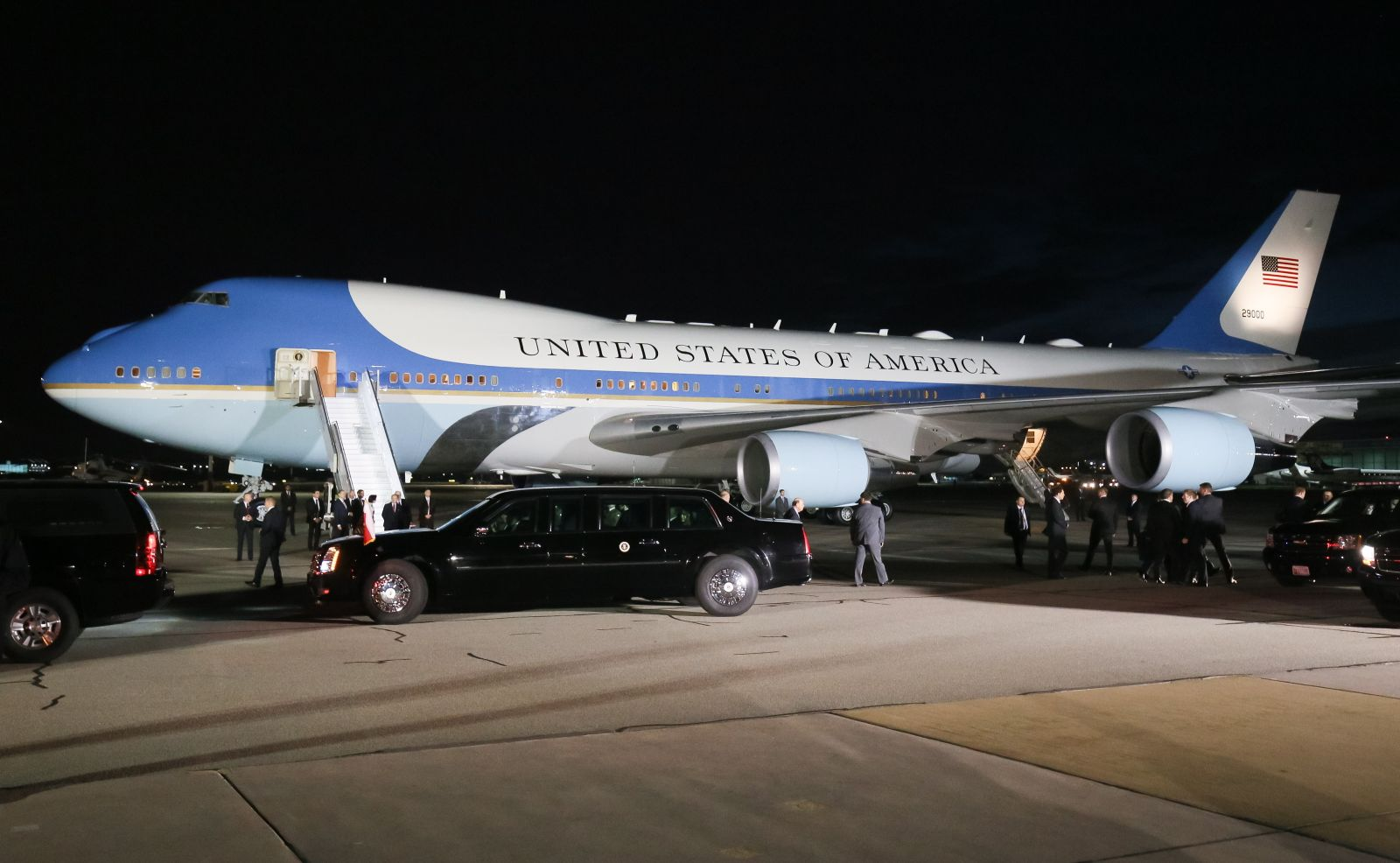 Air Force One i Cadillac One, czyli Bestia