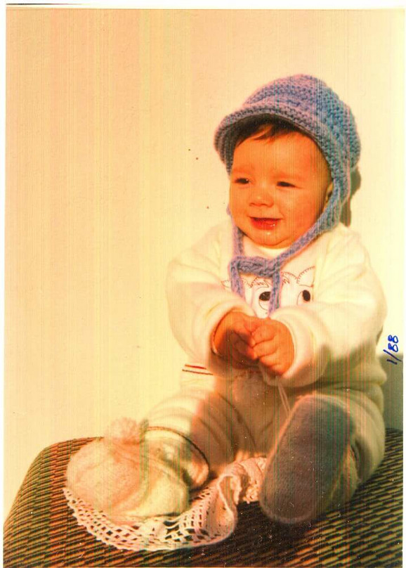 Miloš kao beba