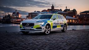 Volvo V90 w służbie szwedzkiej policji