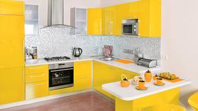 Kuchnia w soczystych kolorach