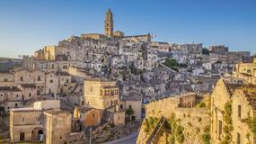 Sassi di Matera - włoskie miasto wykute w kamieniu