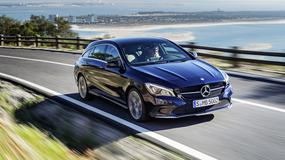 Mercedesy CLA i CLA Shooting Brake po liftingu