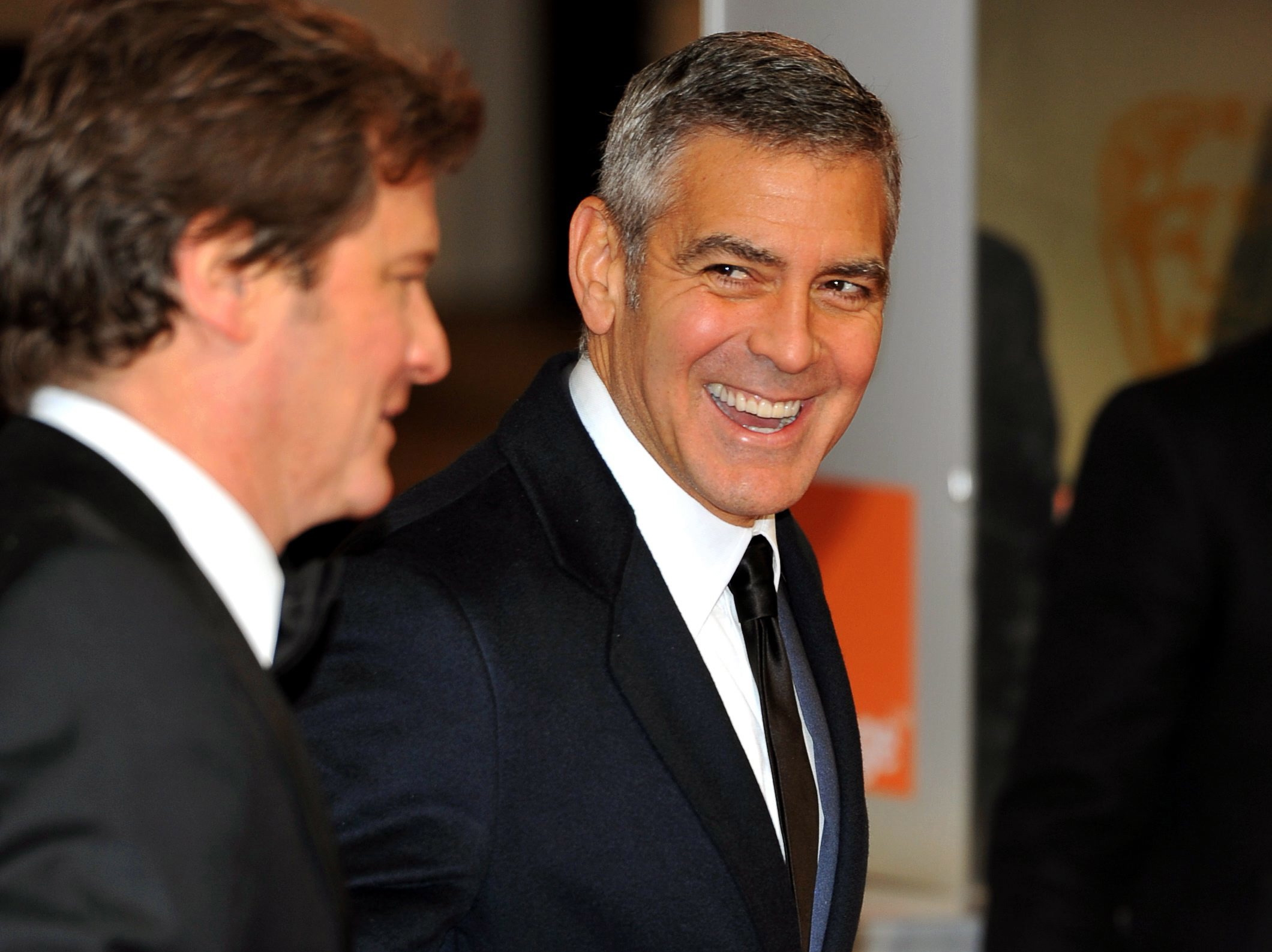Colin Firth i George Clooney