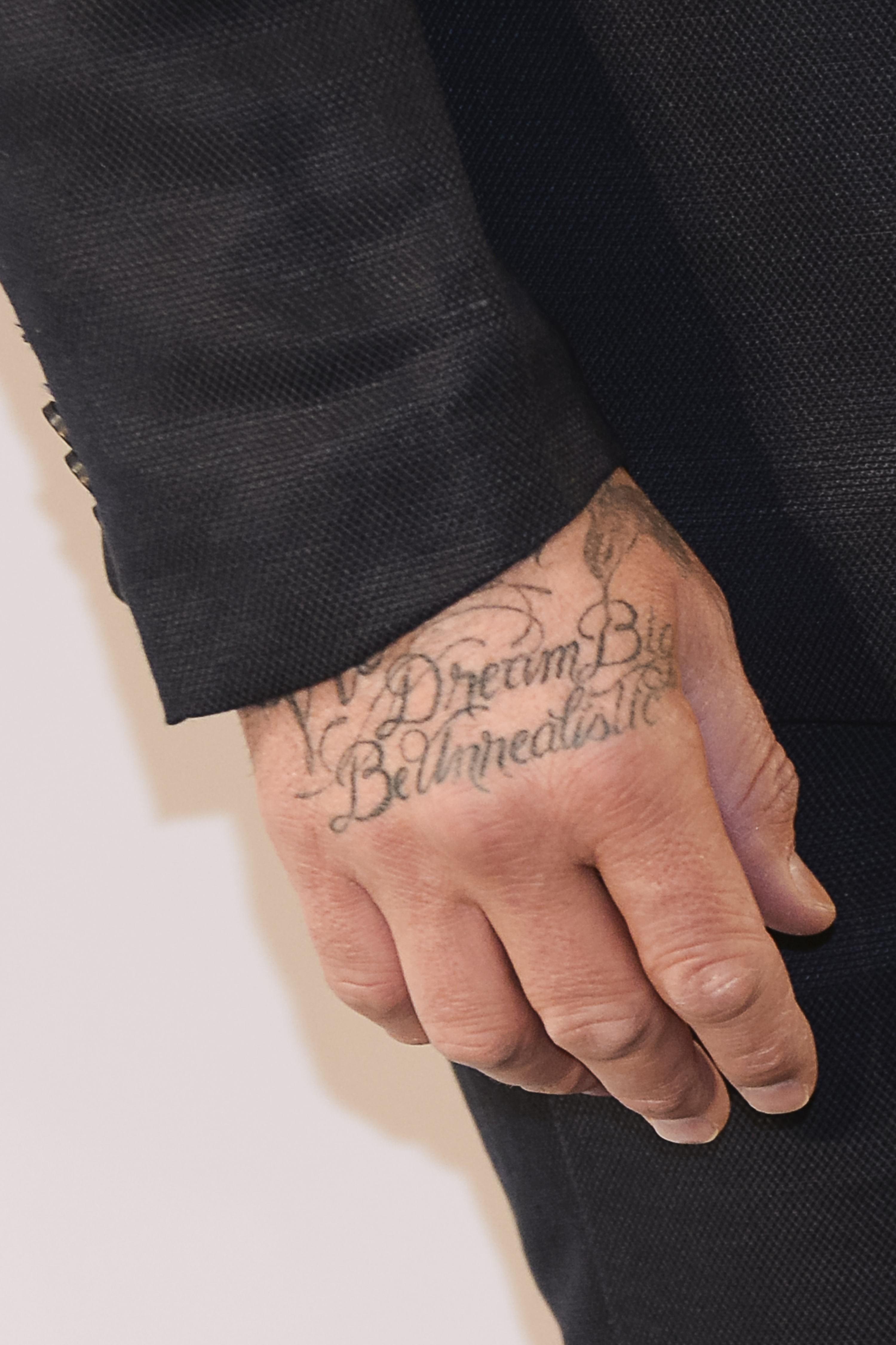 Tatuaże Davida Beckhama Co Znaczą Tatuaże Beckhama