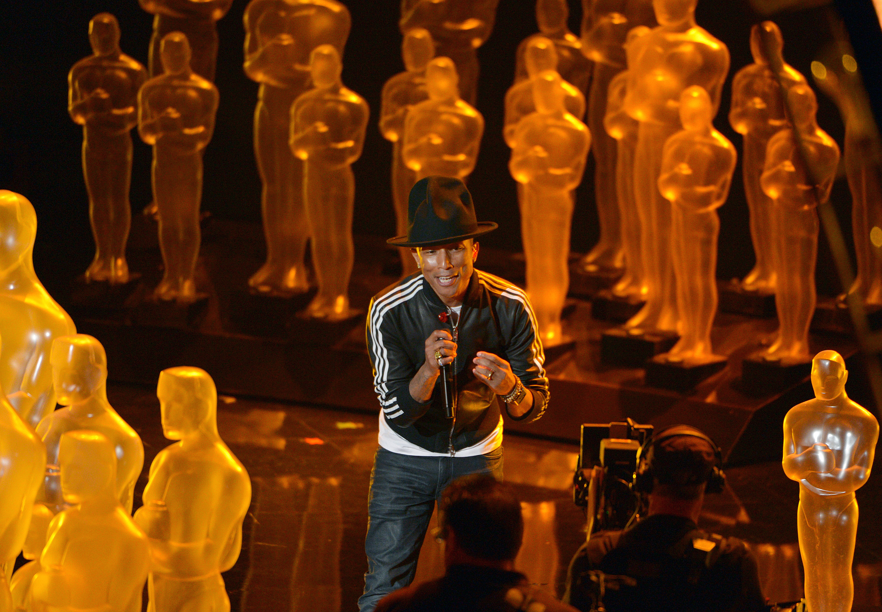 Pharrell Williams na gali Oscarów