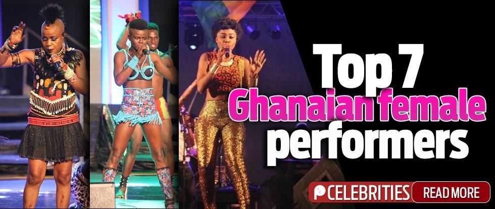 List Top 7 Ghanaian female performers - Pulse Ghana