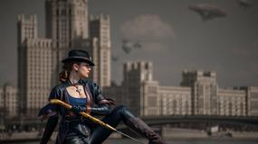 Cosplayowy steampunk z Moskwą w tle