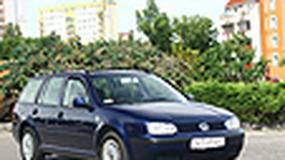 Volkswagen Golf IV Variant - Czwórka na czwórkę