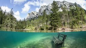 Grüner See w Austrii - lazurowe jezioro z fantastycznym podwodnym krajobrazem