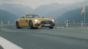 Mercedes GTC w Alpach | Wideo