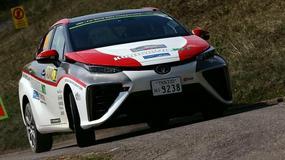 Toyota Mirai - pierwsze auto napędzane wodorem w WRC