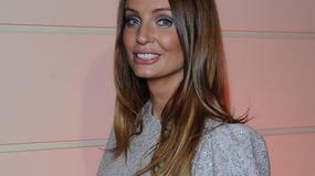 Agnieszka Szulim w srebrnej sukience
