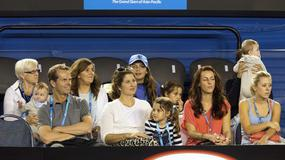 Rodzina wspiera Rogera Federera