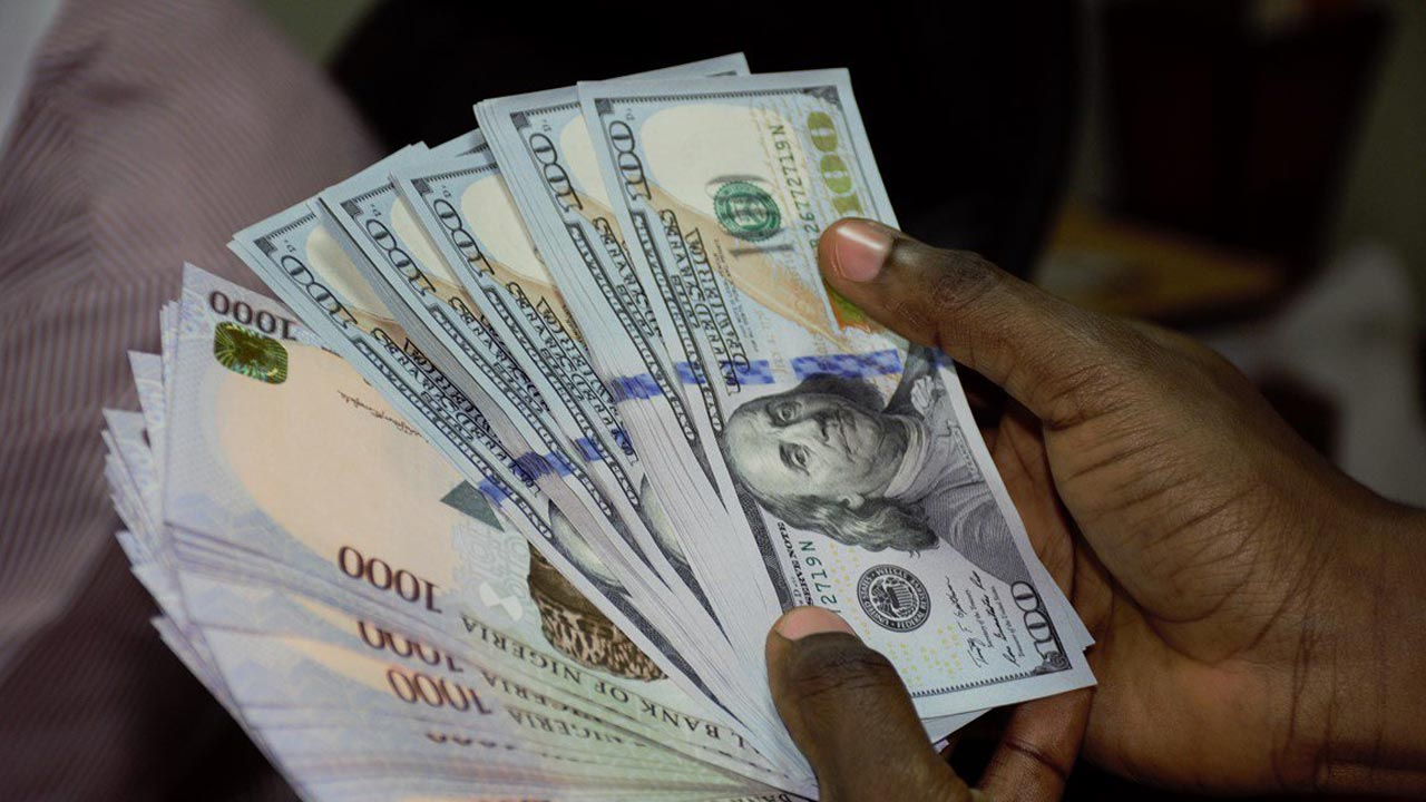 Naira Gains Against Dollar Trades N358 1 At Parallel Market Pulse Nigeria