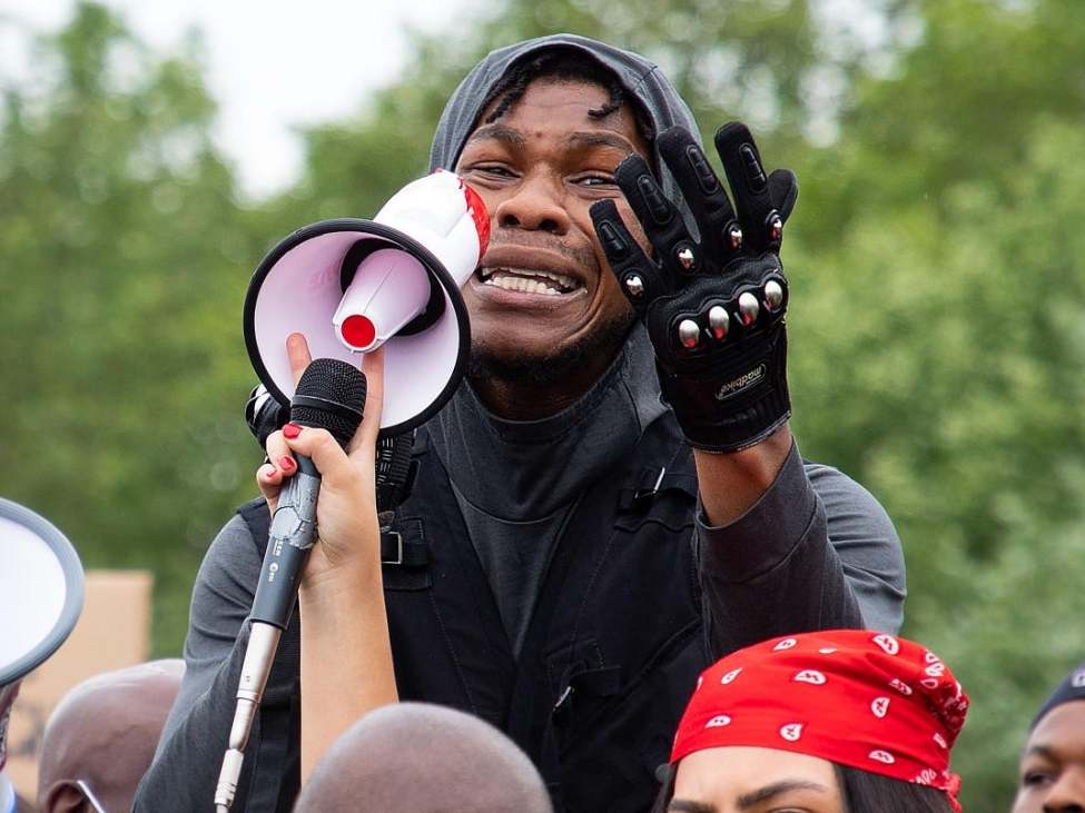 John Boyega set to stage a protest in London to support Anti-SARS movement in Nigeria. (Digitalspy)