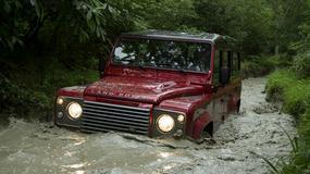 Land Rover Defender poza Europą