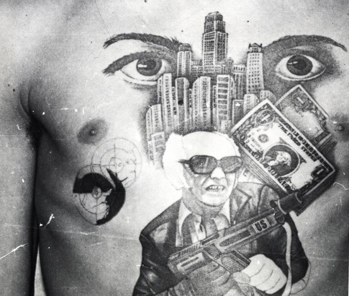 Rosyjskie Więzienne Tatuaże Kultura Kryminalna W Rosji