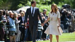 Roger Federer z żoną na ślubie Pippy Middleton
