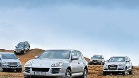 Luksusowe SUV-y z silnikami diesla: BMW X5 kontra Volkswagen Touareg, Porsche Cayenne, Mercedes ML i Audi Q7