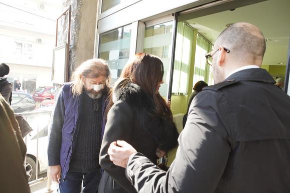 Ceca Ražnatović ispred suda