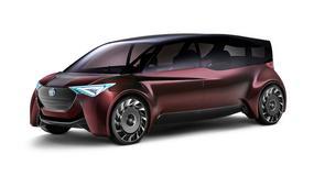 Dwa pojazdy wodorowe Toyoty: Fine-Comfort Ride i Sora